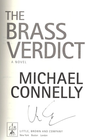 Image for The Brass Verdict: A Novel (A Lincoln Lawyer Novel)