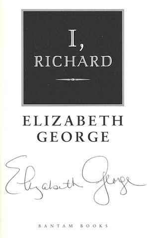 Image for I, Richard [Hardcover] by George, Elizabeth
