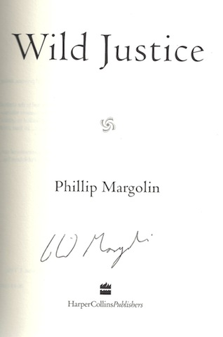 Image for Wild Justice [Hardcover] by Margolin, Phillip