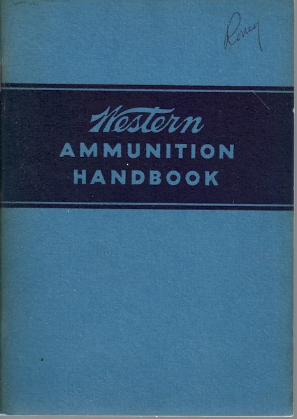 Image for Western Ammunition Handbook