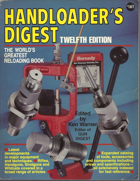 Image for Handloader's Digest: 12th Edition