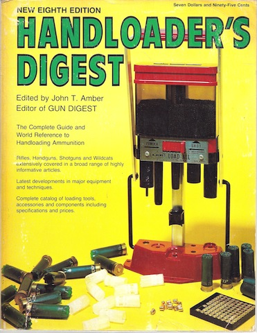 Image for Handloaders digest : 8th Edition