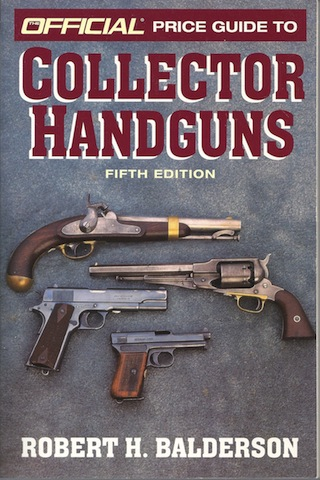 Image for Official Price Guide to Collector Handguns, 5th ed.