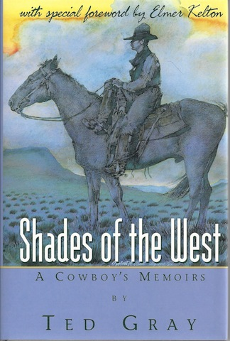 Image for SHADES OF THE WEST- A COWBOY'S MEMORIES