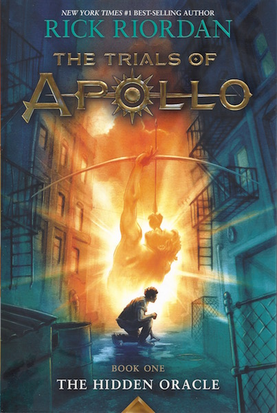 Image for The Trials of Apollo Book One The Hidden Oracle (Signed Edition)