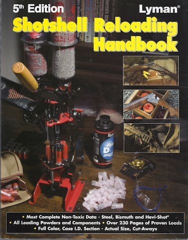 Image for Shotshell Reloading Handbook 5th Edition