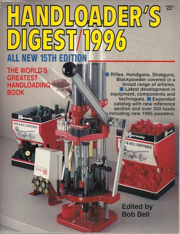 Image for Handloader's Digest 1996