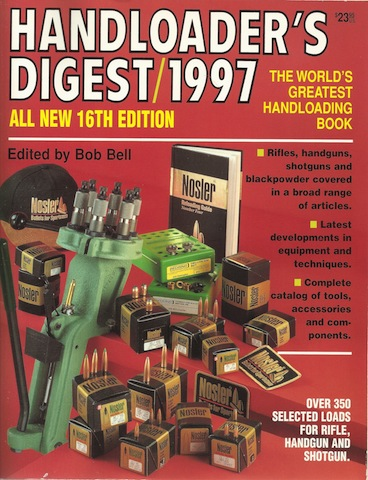 Image for Handloader's Digest 1997 (16th Edition)