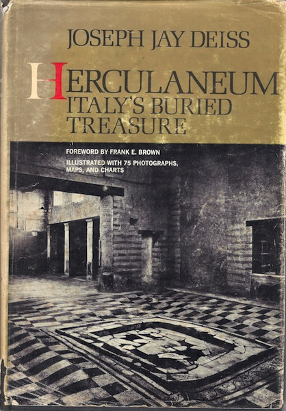 Image for Herculaneum; Italy's buried treasure