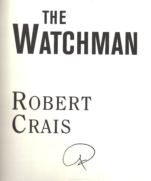 Image for The Watchman: A Joe Pike Novel by Crais, Robert