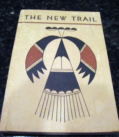 Image for The New Trail Native American School Anthology 1953