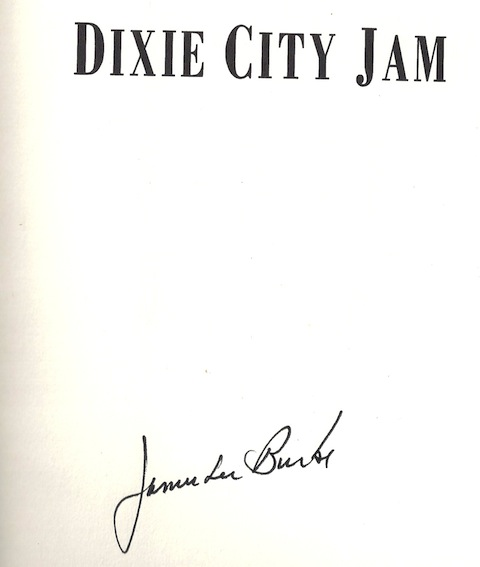 Image for Dixie City Jam by Burke, James Lee