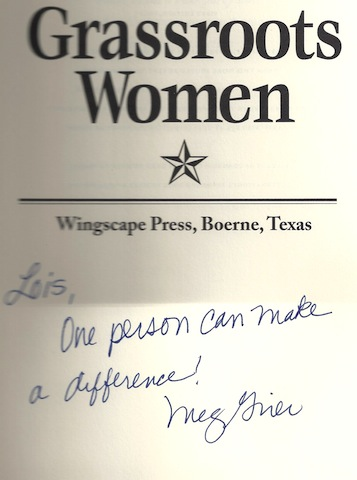 Image for Grassroots Women : A Memoir of the Texas Republican Party
