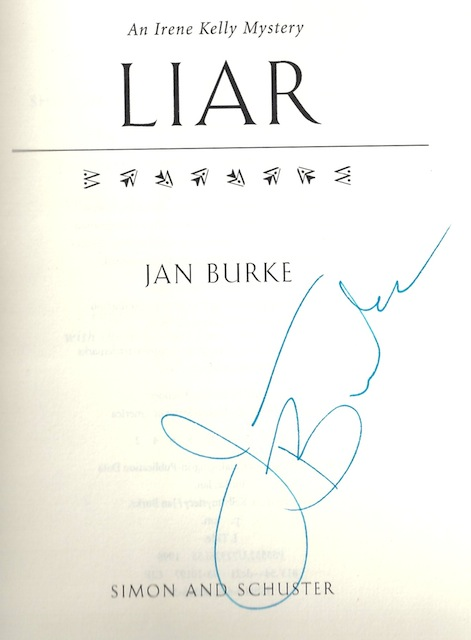 Image for Liar: An Irene Kelly Mystery (Irene Kelly Mysteries) by Burke, Jan
