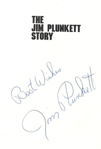 Image for The Jim Plunkett Story: The Saga of a Man Who Came Back