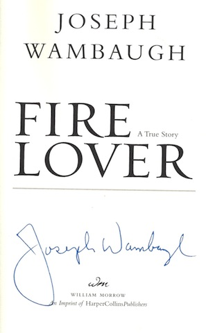 Image for Fire Lover: A True Story by Wambaugh, Joseph