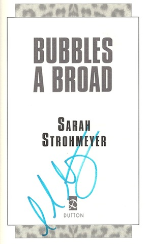 Image for Bubbles a Broad [Hardcover] by Strohmeyer, Sarah