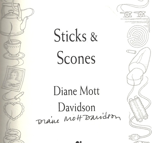 Image for Sticks & Scones by Davidson, Diane Mott
