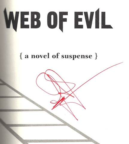 Image for Web of Evil: A Novel of Suspense (Ali Reynolds) [Hardcover] by Jance, J.A.