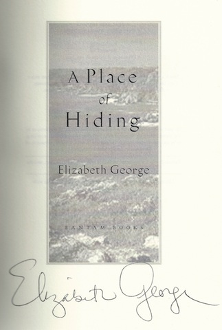 Image for A Place of Hiding by George, Elizabeth