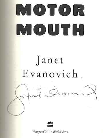 Image for Motor Mouth (Alex Barnaby Series #2) [Hardcover] by Evanovich, Janet
