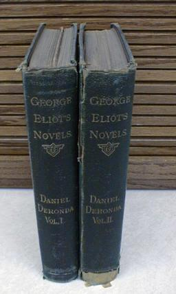Image for Daniel Deronda 2 Vol Set Novels George Eliot Vol VIII [Hardcover]