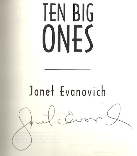 Image for Ten Big Ones (Stephanie Plum, No. 10) [Hardcover] by Evanovich, Janet