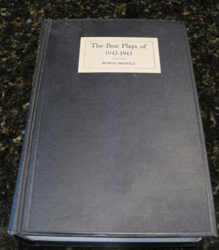 Image for The Best Plays of 1942-43 And The Year Book Of The Drama In America [Hardcover]