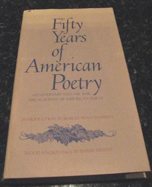 Image for Fifty Years of American Poetry Moser Engravings