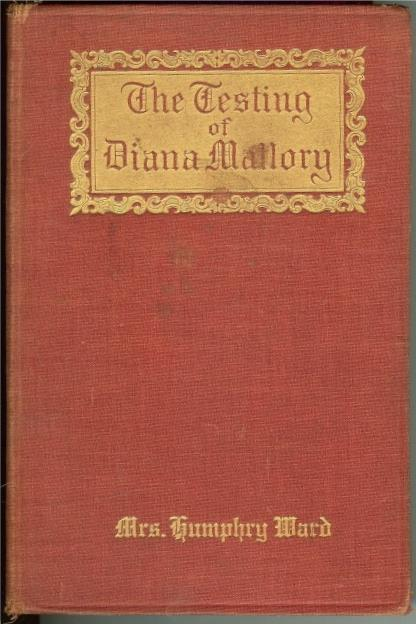 Image for The testing of Diana Mallory, by Ward, Humphry