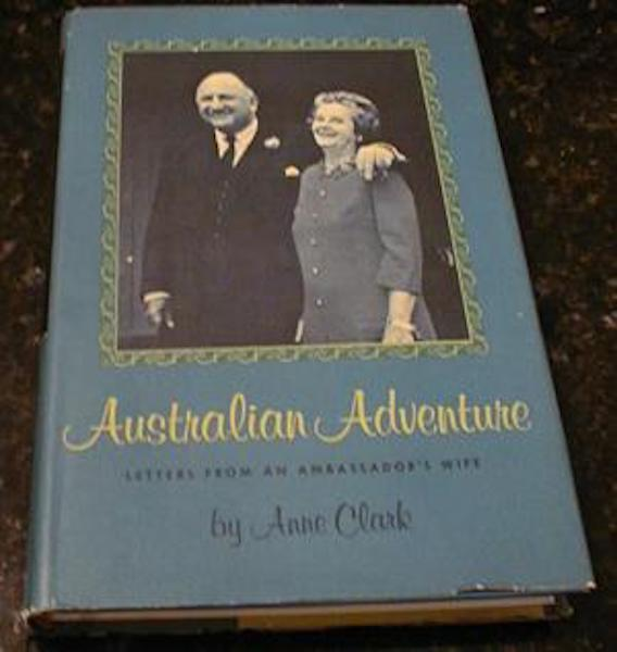 Image for Australian Adventure Anne Clark Ambassador Wife Signed [Hardcover]