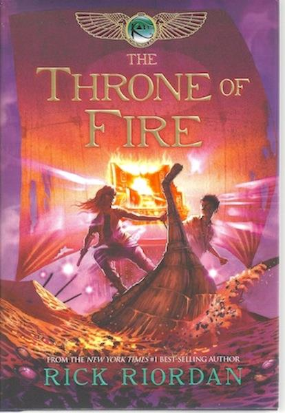 Image for The Throne of Fire (The Kane Chronicles, Book Two)