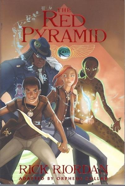 Image for The Red Pyramid: The Graphic Novel, Book 1 (The Kane Chronicles)