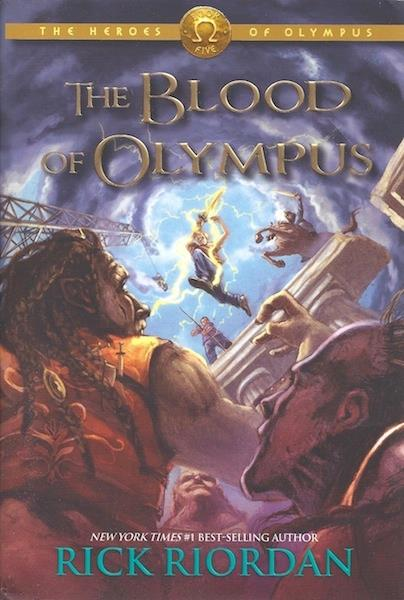 Image for The Heroes of Olympus Book Five: The Blood of Olympus SIGNED