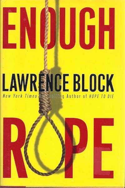 Image for Enough Rope by Block, Lawrence