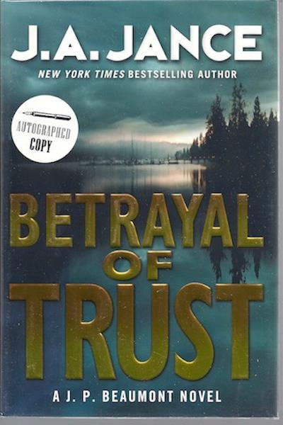 Image for Betrayal of Trust: A J. P. Beaumont Novel (J. P. Beaumont Mysteries)