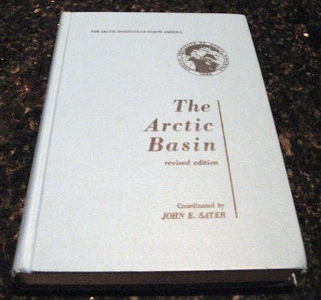 Image for The Arctic Basin John E Sater Map [Hardcover] by Sater, John E