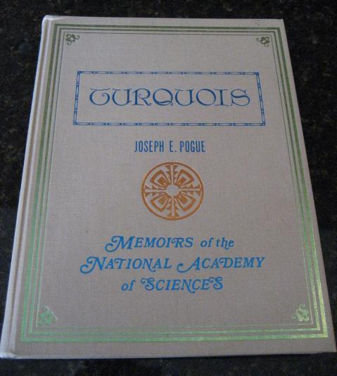 Image for Turquois, Memoirs of the National Academy of Sciences.. [Hardcover]