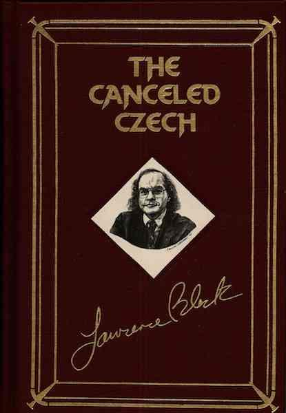 Image for The Canceled Czech (The Armchair Detective Library) [Deluxe Edition]