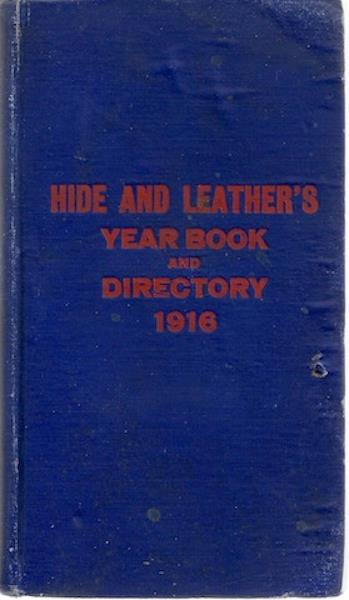 Image for Hide and Leather's Year Book and Directory 1916