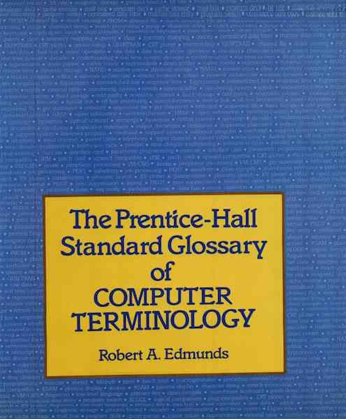 Image for Standard Glossary of Computer Terminology