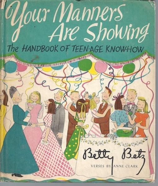 Image for Your Manners Are Showing: The Handbook of Teen-Age Know-How