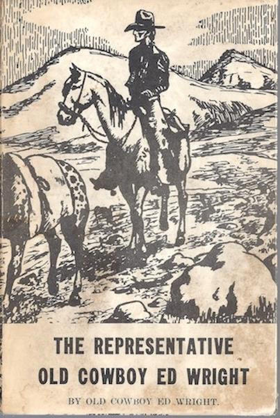 Image for Representative Old Cowboy Ed Wright Signed Pardners