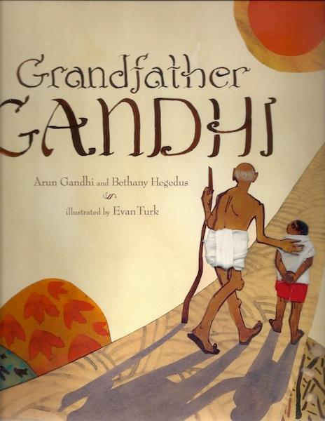 Image for Grandfather Gandhi TRIPLE SIGNED