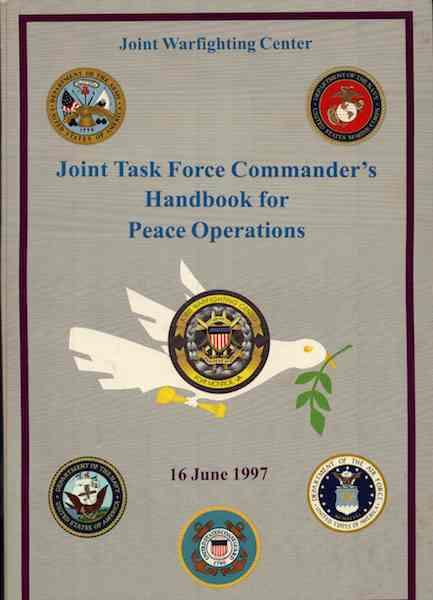 Image for Joint Task Force Commander's Handbook for Peace Operations