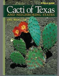 Image for Cacti of Texas and Neighboring States: A Field Guide