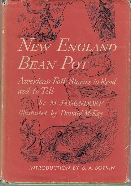 Image for New England Bean-Pot: American Folk Stories to Read and Tell