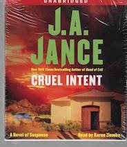 Image for Cruel Intent: A Novel of Suspense (Ali Reynolds) Audio CD