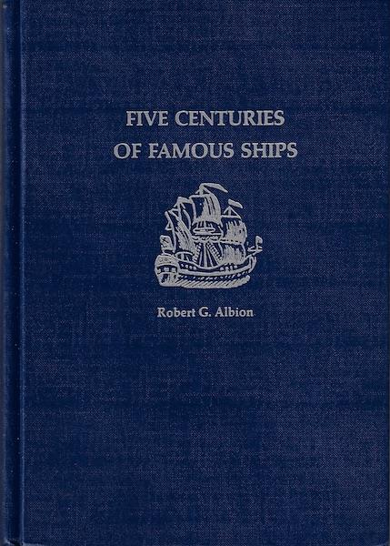 Image for Five Centuries of Famous Ships