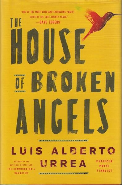Image for The House of Broken Angels SIGNED